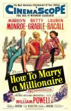 Comment épouser un millionnaire Affiche originale