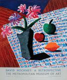 アラセイトウ(A) 限定版アートプリント : デイヴィッド・ホックニー