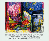 Landscape-Works on Paper Poster af Hans Hofmann