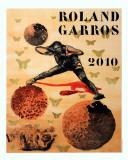 Roland Garros Reproduction pour collectionneur par Nalini Malani
