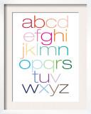Rainbow Alpha Posters por  Avalisa