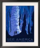 Veja a América, em inglês Poster por Alexander Dux