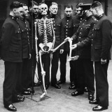 Skeleton Force Photographic Print