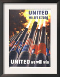 United We are Strong, United We Can Win Arte por Henry Koerner