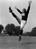 American Football Player Reproduction photographique par H. Armstrong Roberts