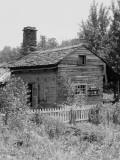 Log Cabin Fotografisk tryk af H. Armstrong Roberts
