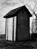 Outhouse Reproduction photographique par H. Armstrong Roberts