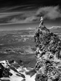 Mountain Climber Fotografisk trykk av H. Armstrong Roberts