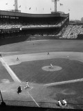 Baseball Game at the Polo Grounds Photographic Print by George Marks