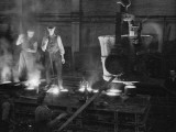 Foundry Workers Photographic Print