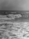 Surf on Beach Photographic Print by George Marks