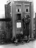 Emergency Call Box Photographic Print
