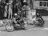 Course du Tourist Trophy ou TT, Île de Man, Grande-Bretagne Reproduction photographique