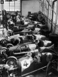 Racing Mechanics Fotografie-Druck