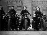 Dispatch Riders Fotografie-Druck