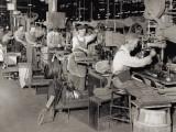 Early 20Th Century Production Line Lámina fotográfica