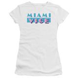 Juniors: Miami Vice-Logo T-shirts