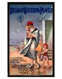 Belgian Watering Places, Belgian State Railway, c.1930s ポスター
