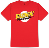 Big Bang Theory - Bazinga! No Face T-Shirts