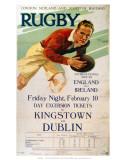 Rugby, LMS, c.1928 Kunstdruck
