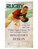 Rugby, LMS, c.1928 Posters
