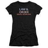 Juniors: Law & Order SVU-Logo T-Shirt