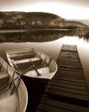 Row Boat Awaits Arte di Danita Delimont
