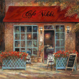 Café Nikki Posters by Ruane Manning