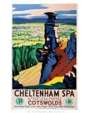 Cheltenham Spa, GWR/LMS, cerca de 1923 a 1947 Posters