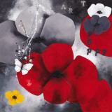 Art Poppy Posters af Aurélie Pfaadt