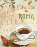 Cafe in Europe III Posters af Lisa Audit