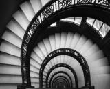 Cage d'escalier de The Rookery, Chicago Affiches par Jim Christensen