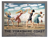 The Yorkshire Coast, LNER, c.1923-1947 Prints