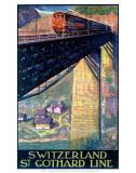 Swiss Federal Railways Prints