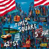 Times Square 5th Avenue Posters by Sophie Wozniak