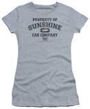 Juniors: Taxi-Property Of Sunshine Cab T-shirts