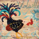 Royale Rooster I Kunstdrucke von Paul Brent
