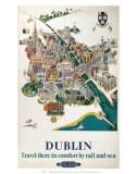 Dublin, BR, c.1954 Poster