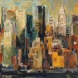 New York, New York Poster by Marilyn Hageman