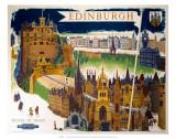 Edinburgh, BR (ScR), c.1948-1965 高画質プリント : ケリー・リー