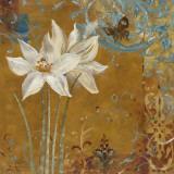 Krishna's Garden III Print by Richard Henson