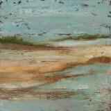 Sunset Lake II Poster von Norm Olson