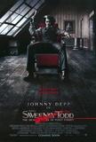 Filmposter Sweeney Todd met Johnny Depp, The Demon Barber of Fleet Street, 2007 Posters