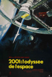 2001: A Space Odyssey - French Style Poster
