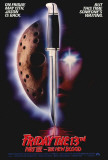 Friday the 13th Part 7 - The New Blood Plakater