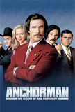 Anchorman: The Legend of Ron Burgundy Plakater
