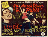 An American in Paris -  Style Poster