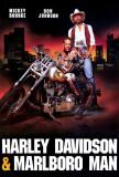 Harley Davidson and the Marlboro Man Posters