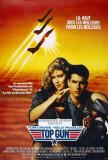 Filmposter Top Gun, 1986, Franse versie Poster