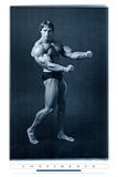 Filmbeeld Pumping Iron met Arnold Schwarzenegger Print